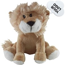 Soft toy lion.