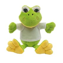 "Plush frog ""Frieda"""