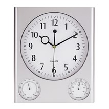 "Rectangular wall clock ""Saturn"""