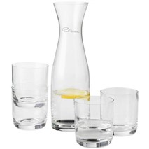Prestige carafe with 4 glasses