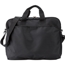 Polyester (1690D) laptop bag.