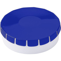 Round container with 12g sugar free mints