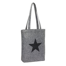 "Felt shopper ""Star Dust"""
