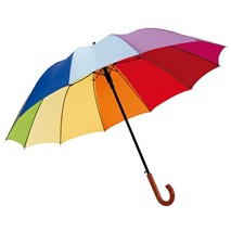 Automatic golf umbrella RAINBOW LIGHT