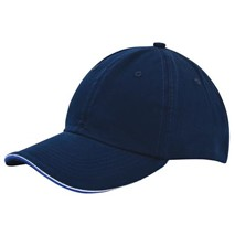 Duo Color Sandwich Cap navy blue