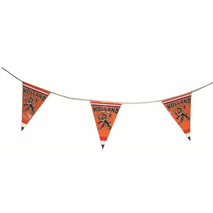Polyester Flag line Embroided (6.5 mtr / 15 flags)