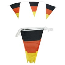 Polyester Flag line  (6.5 mtr / 15flags) Germany