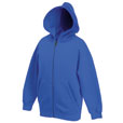 Zip Through Hooded Sweat - 501898