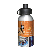 Aluminium sports bottle
