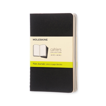 Moleskine Cahier Journal Pocket (в линию) - набор 3шт