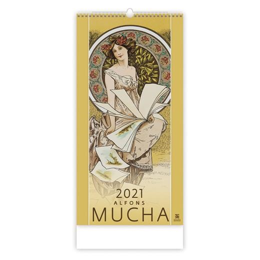 Kalendář Alfons Mucha