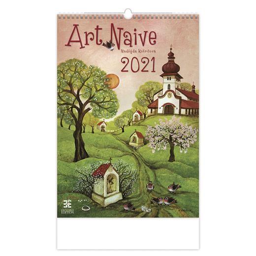 Kalendář Art Naive