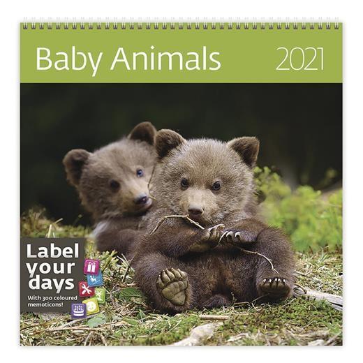 Kalendář Baby Animals