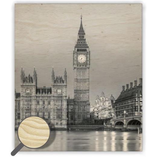 Dřevěný obraz Big Ben