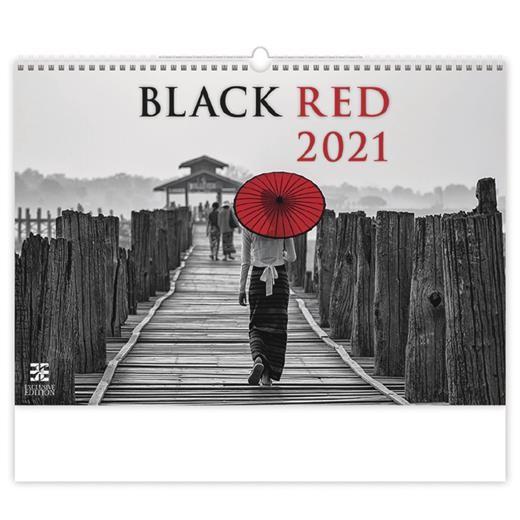 Kalendář Black Red