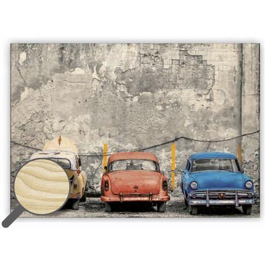 Dřevěný obraz Cars