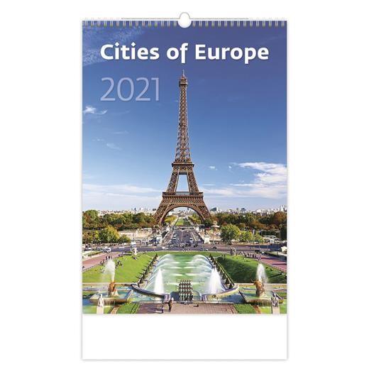 Kalendář Cities of Europe