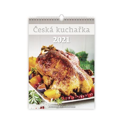Kalendář Česká kuchařka