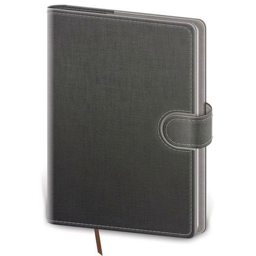Denní diář B6 Flip šedo/šedý