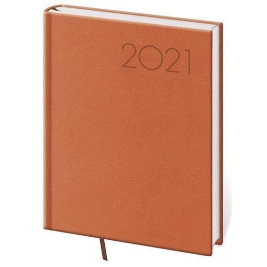 Denní diář B6 Print oranžový