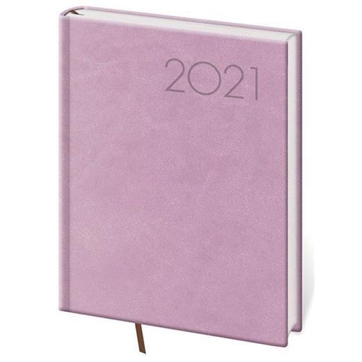 Denní diář B6 Print růžový