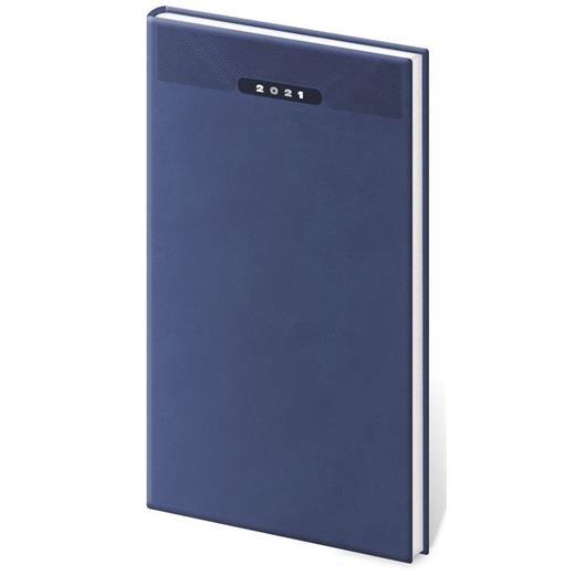 Kapesní diář Print modrý