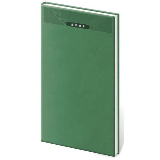 Kapesní diář Print zelený
