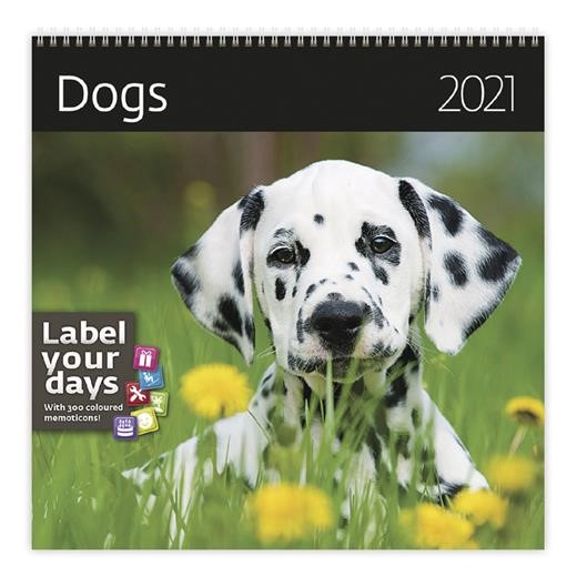 Kalendář Dogs