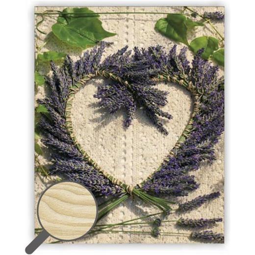 Dřevěný obraz  Heart