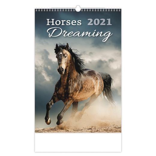 Kalendář Horses Dreaming