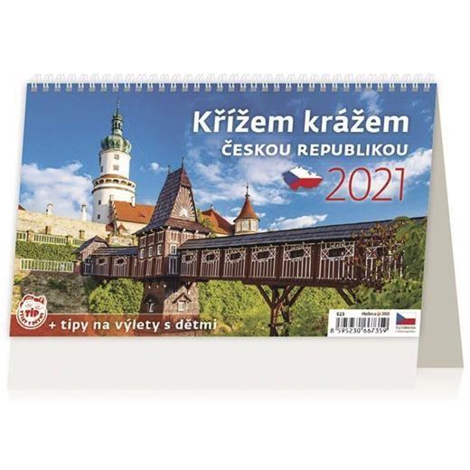 Kalendář Křížem krážem Českou republikou