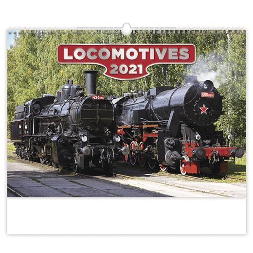 Kalendář Locomotives