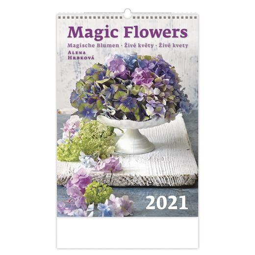 Kalendář Živé květy
