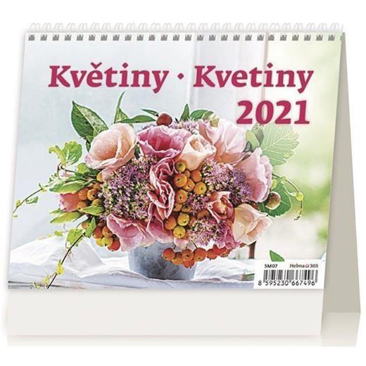 Kalendář Květiny