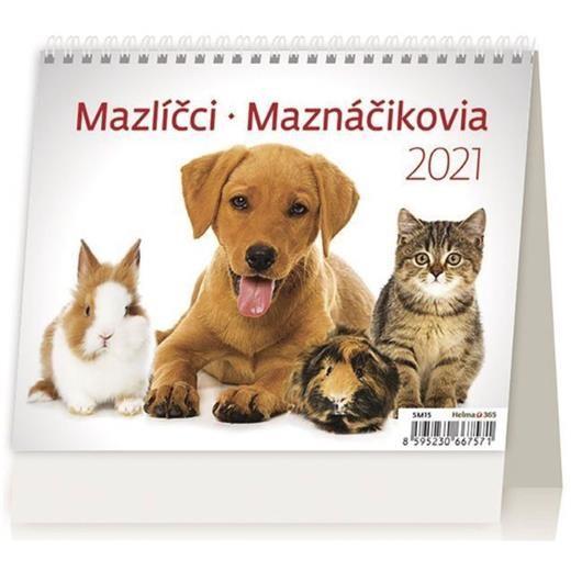 Kalendář Mazlíčci