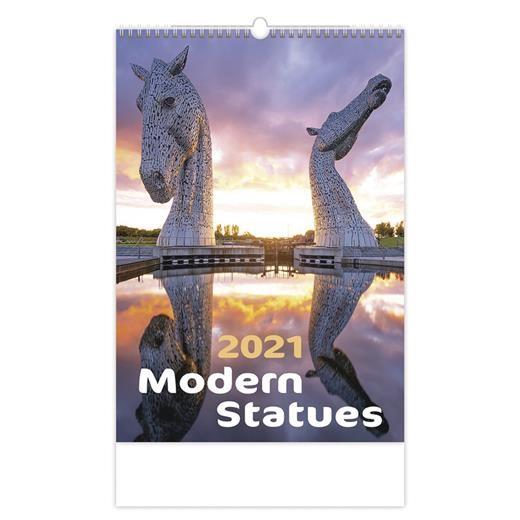 Kalendář Modern Statues