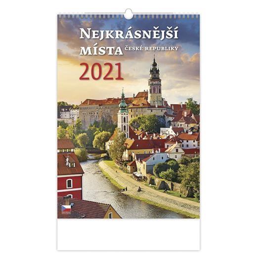 Kalendář Nejkrásnější místa ČR