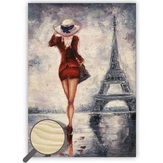 Dřevěný obraz Paris