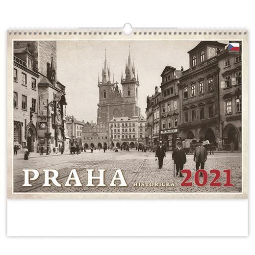 Kalendář Praha historická