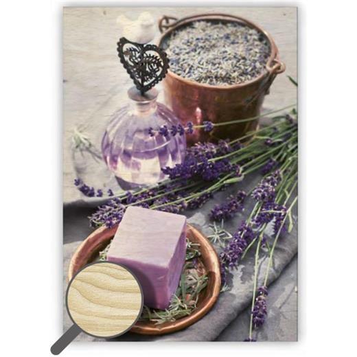 Dřevěný obraz Provence
