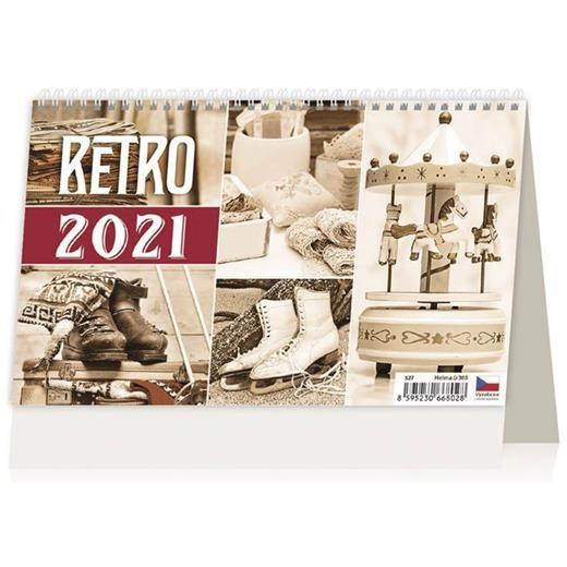 Kalendář Retro