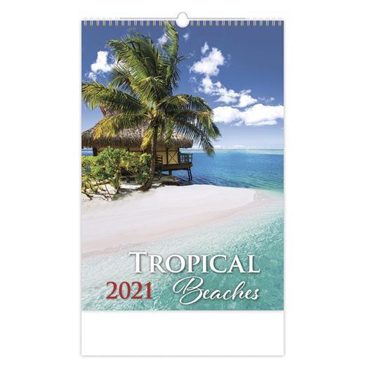 Kalendář Tropical Beaches