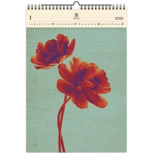 Luxusní dřevěný obrazový kalendář Tulip
