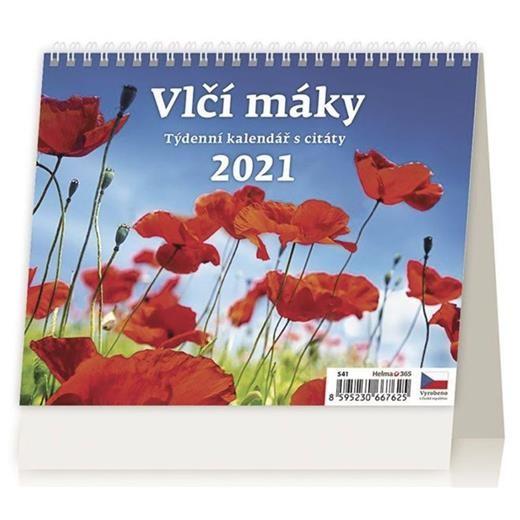 Kalendář Vlčí máky