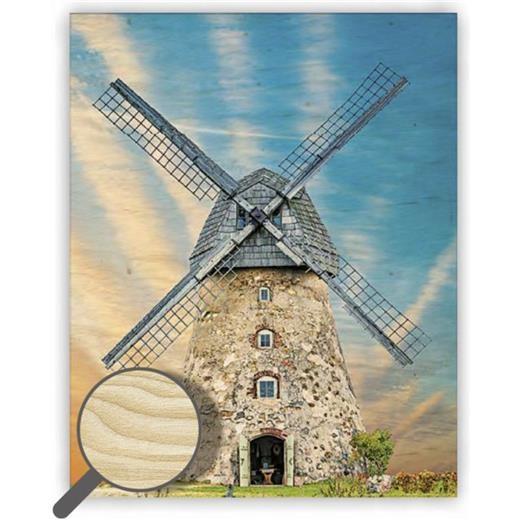 Dřevěný obraz  Windmill
