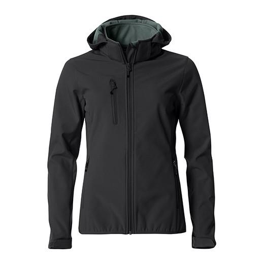 Clique softshell ženska jakna s kapuljačom Basic