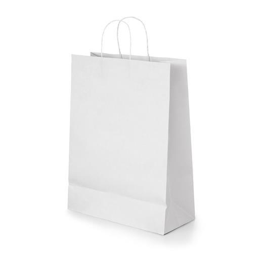 Kraft papirnata vrećica - bijela