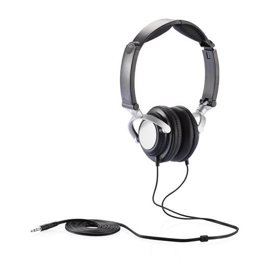 Casque audio pliable noir - Porte casque audio ...