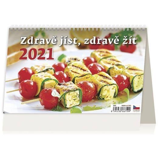 Kalendář Zdravě jíst, zdravě žít
