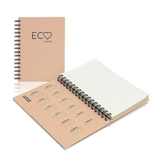 A5 Hardcover College-Block Eco